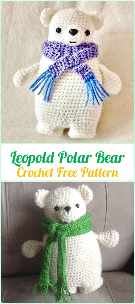 Free Crochet Teddy Bear Pattern - Lucy Kate Crochet | 1280x570
