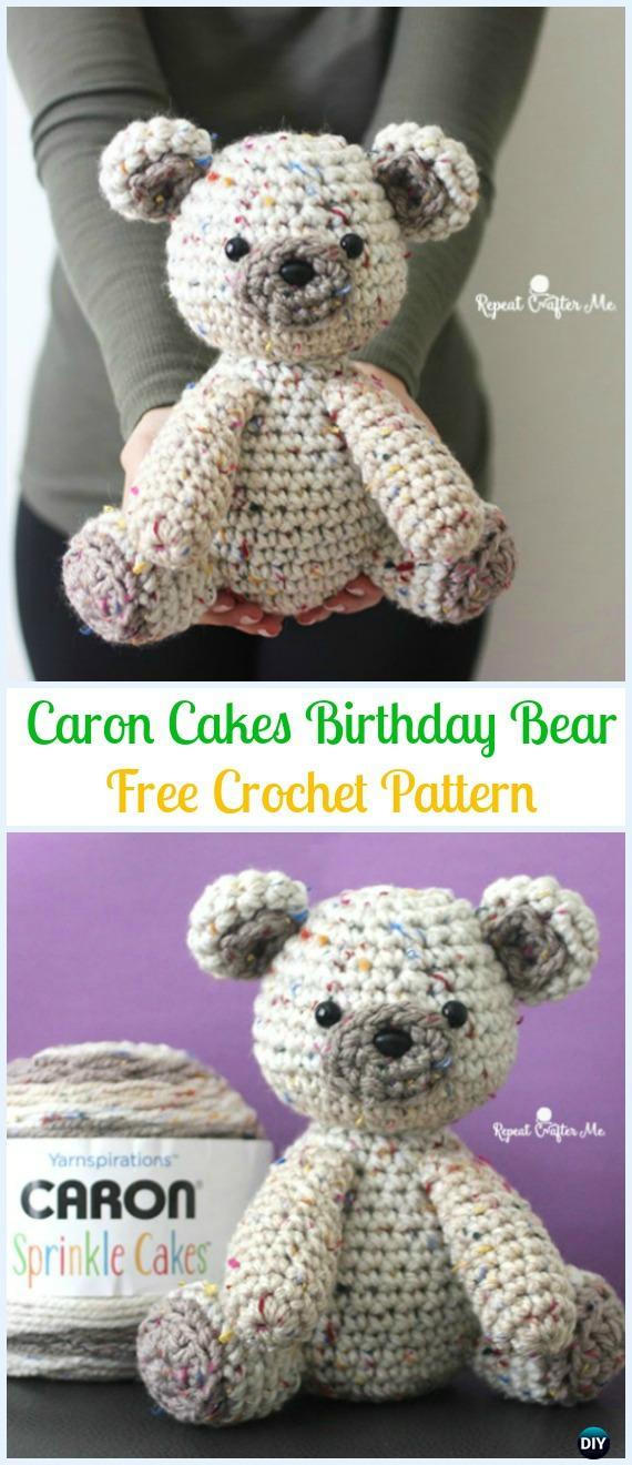 Crochet bear amigurumi pattern   Amiguroom Toys   1320x570