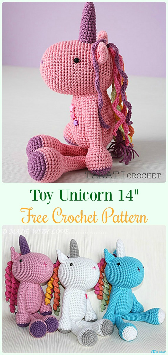 Free Unicorn Crochet Patterns - The Best Collection Ever ... | 1200x570