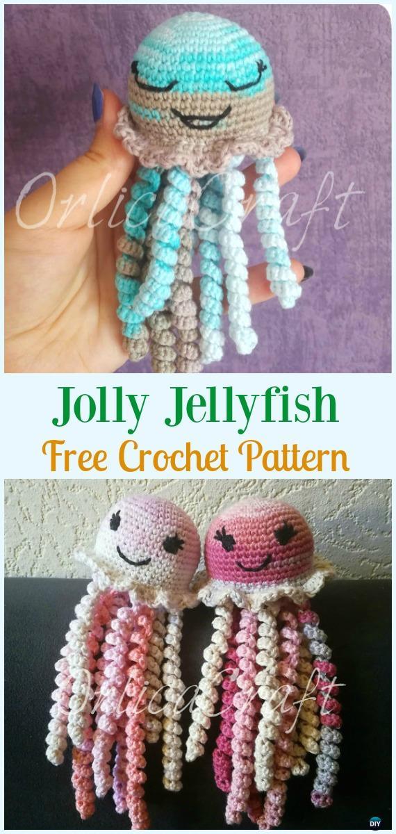 Crochet Jellyfish - One Dog Woof   1200x570