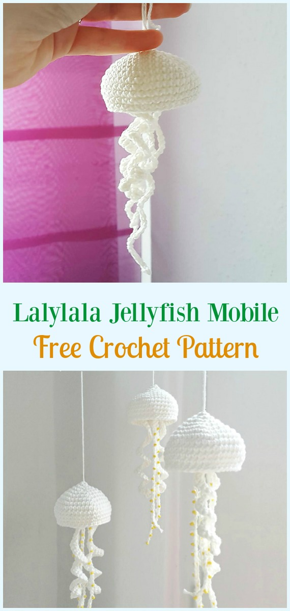 Crochet Mobiles - 10 Free Patterns to Dress Up Any Room! | 1200x570