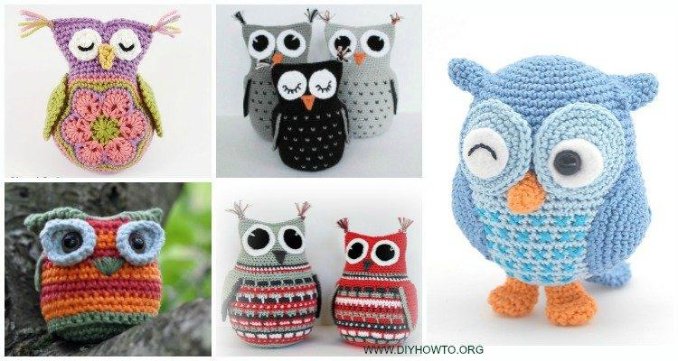 Amigurumi Owl Free Pattern   400x750