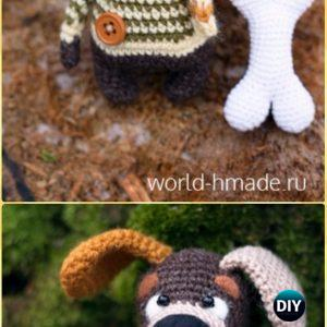 Amigurumi – Dog Collection - Baby Pug Dog - Free Pattern | Crochet ... | 300x300