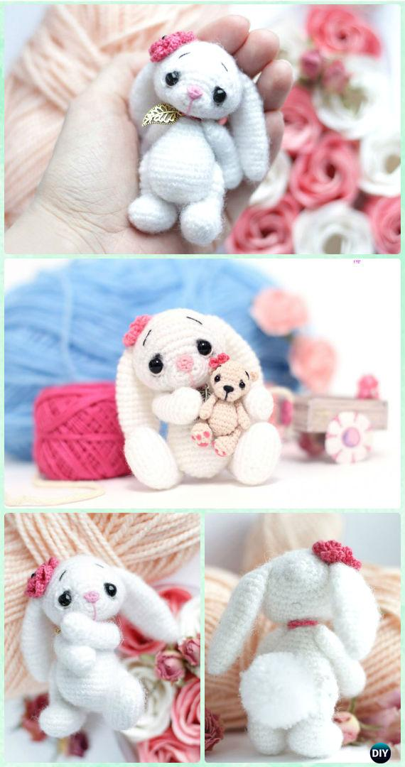 10 Quick and Easy Mini Amigurumi Patterns - Grace and Yarn | 1080x570