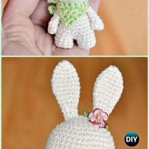 Amigurumi Bunny Family - Free Crochet Written Patterns   300x300