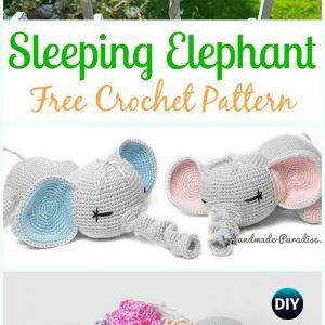 Amigurumi Baby Elephant Pattern | Etsy | 300x300