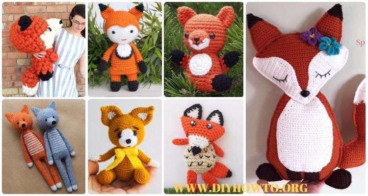 5-Way Jointed Amigurumi Fox - Crochet Pattern by Kristi Tullus ... | 400x750