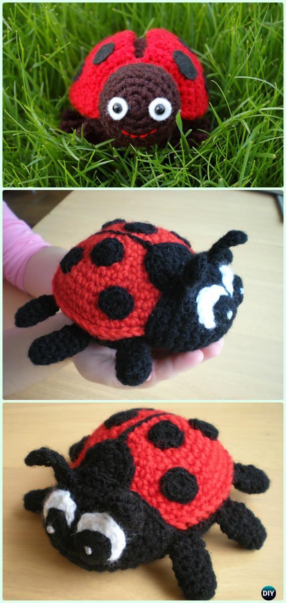 Jadybug the Ladybug amigurumi pattern - Amigurumipatterns.net   1200x570