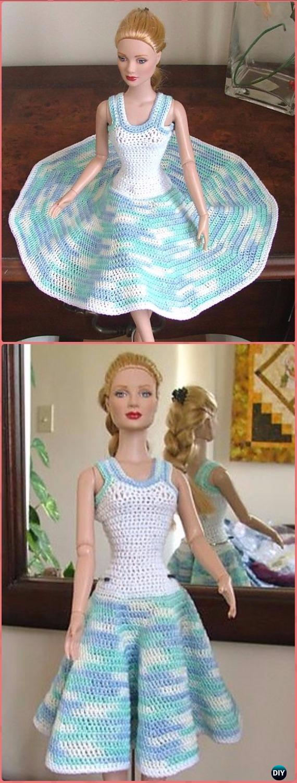 Barbie clothes Barbie Crochet Dress for Barbie Doll   Etsy ...   1500x570