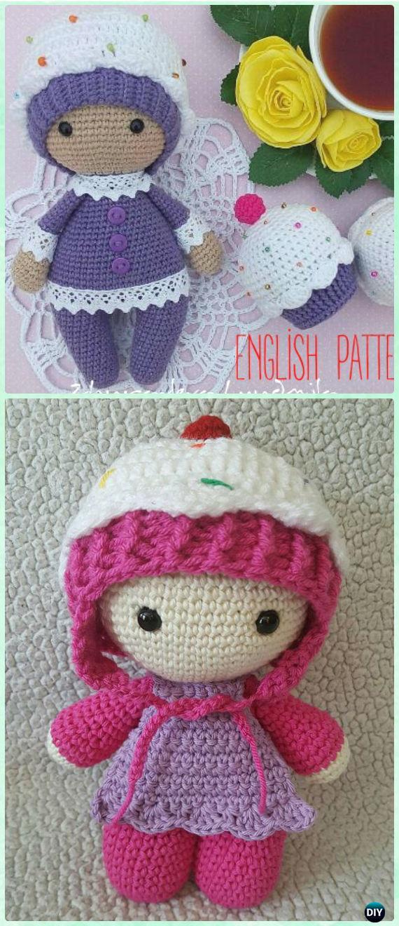 Crochet Ballerina Doll Amigurumi - Free Pattern - DIY 4 EVER   1320x570