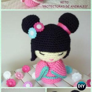 DMC 15324L/2 Little Lady Ninja's Crochet Muster: Amazon.de: Spielzeug | 300x300