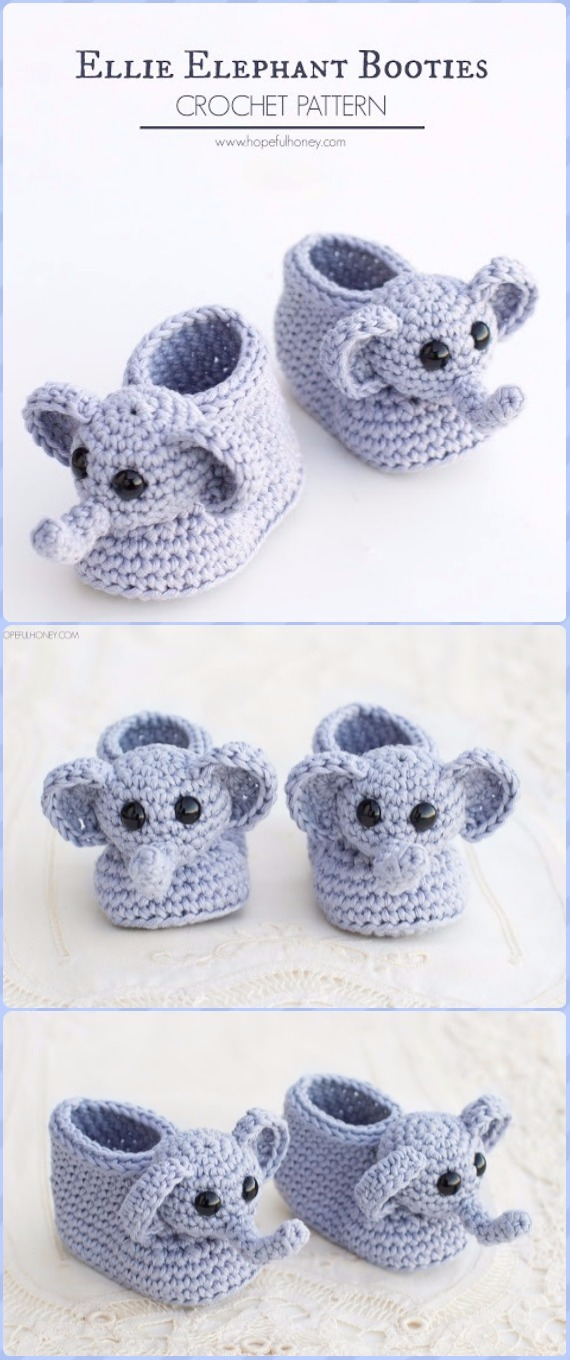 Baby Knitting Patterns Baby Elephant-Instant Download Crochet ... | 1360x570
