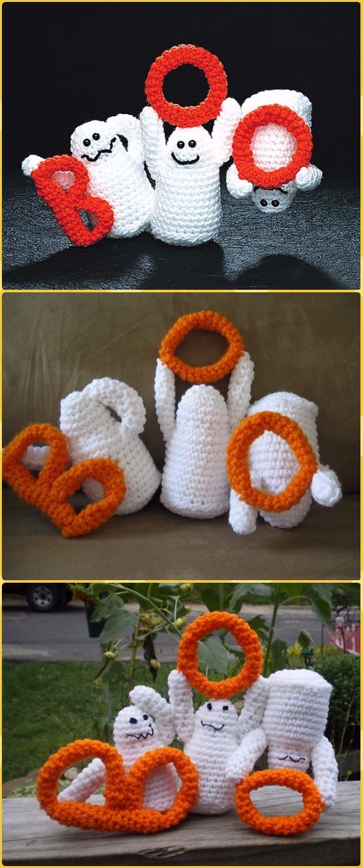 Amigurumi Ghost Crochet Pattern & Tutorial - YouTube | 1360x570