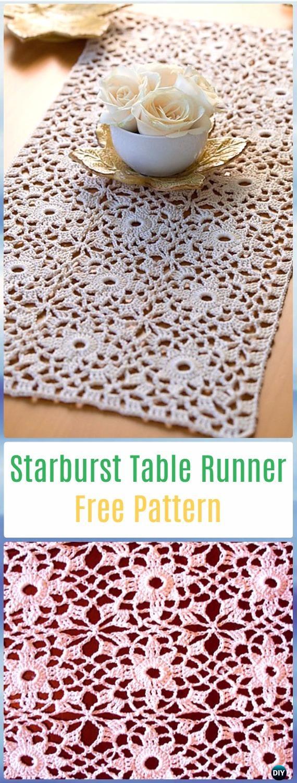 Crochet Patterns Table Runner