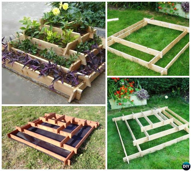 Slot Together Pyramid Garden Planter Diy Vertical Tower Raised Beds