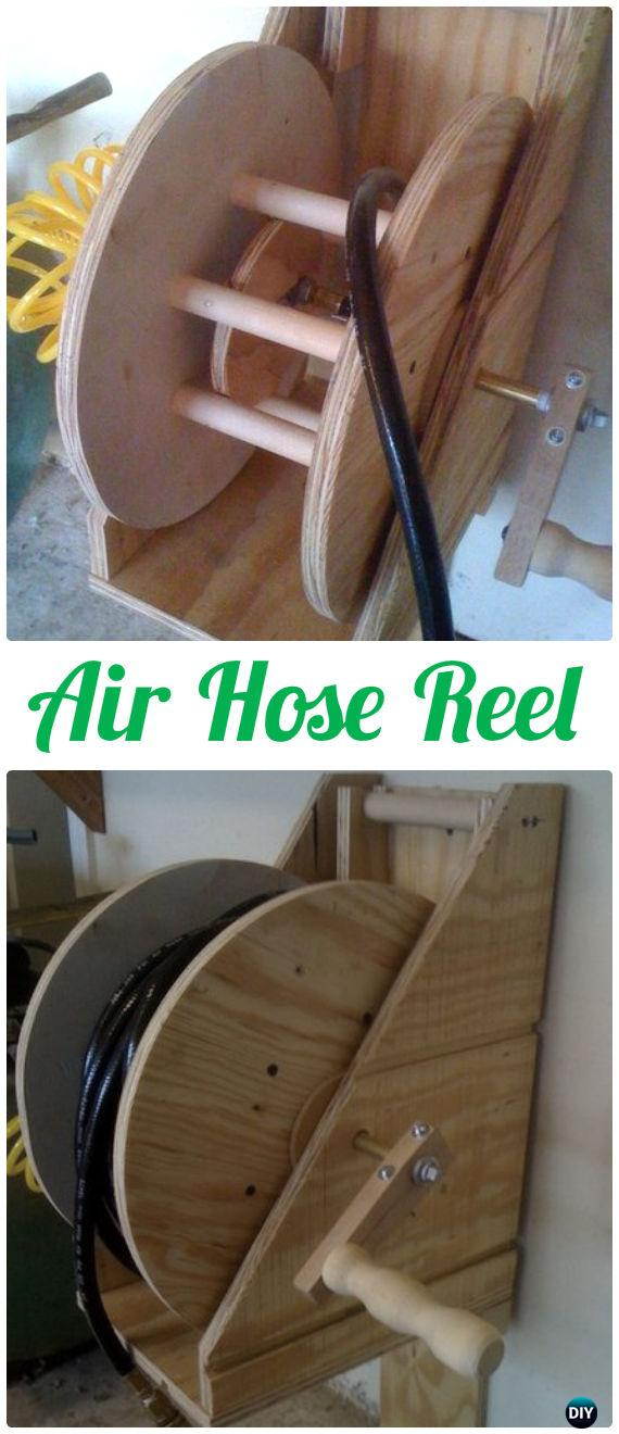 spool cable recycle reel hose diyhowto