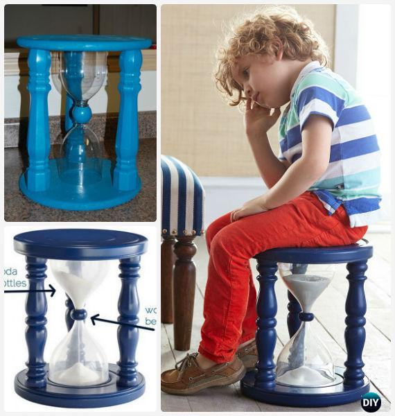 Diy Sand Wood Time Out Stool Instructions Back To School Kids Furniture