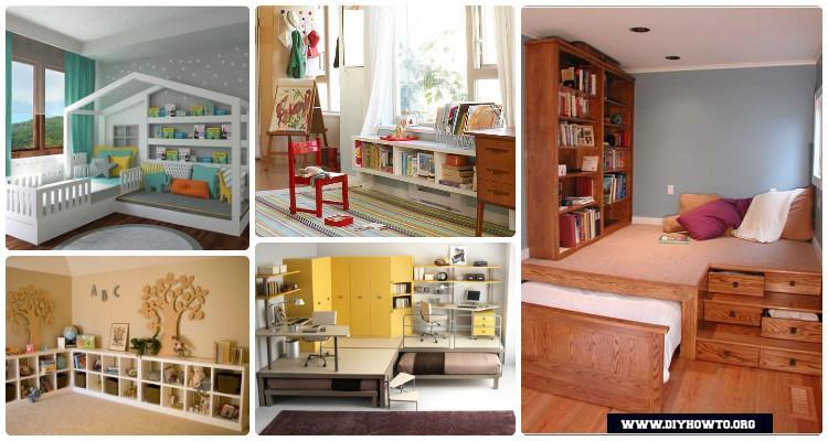 Space Saving Kids Bedroom Furniture, Diy Bedroom Furniture