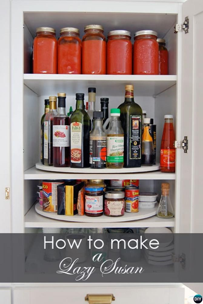 How To Make Lazy Susan Free Plan Instruction