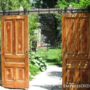 Turn Old Door Into Book Garen Door