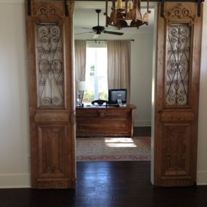 Turn Old Door Into Sliding Door