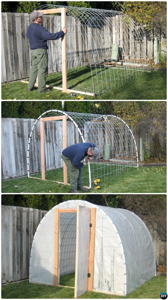 Diy Wire Cattle Panel Greenhouse Free